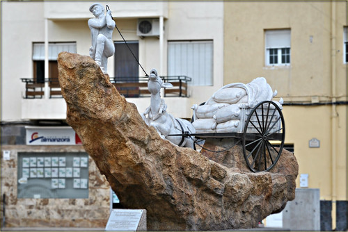 donkey statue albox spain isabelmariagarciaoller