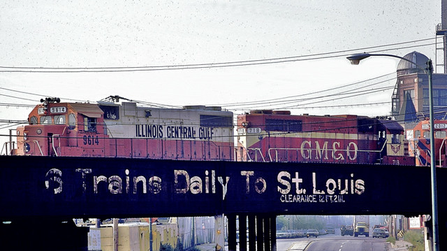 Six Trains Daily to St. Louis