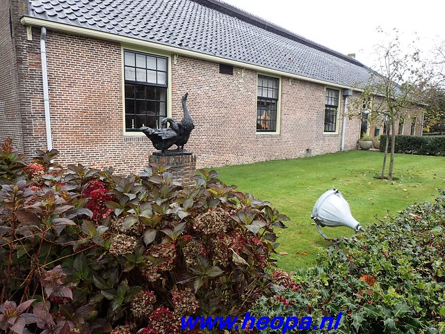 2016-11-09  Gooimeer tocht   25 KM   (25)