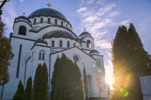 belgrade beograd srbija serbia svetog save hram svitanje sunrise