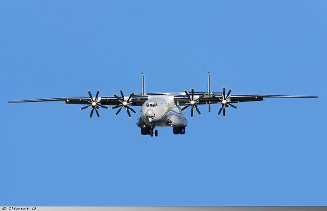 Antonov An-22 Antonov Design Bureau UR-09307