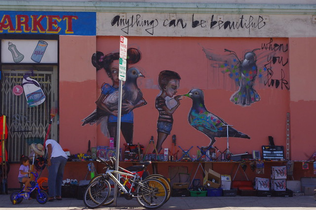 Urban Life LA, with Hearkut Mural