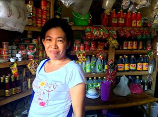 Daanbantayan market vendor Emily Manigos | by dilg.yolanda