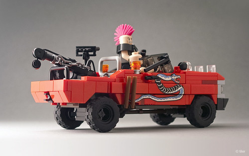 Mad Max – The Road Warrior: Snake Truck _03 | by _Tiler
