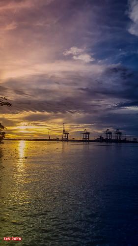 sunset photography evening kerala kochi