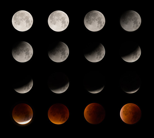 Total Lunar Eclipse (Blood Moon) 2015 | by ukalex