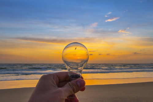 beach beautiful sunrise colours dof outdoor creative