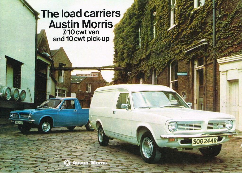 1977 Morris Marina based light commercials brochure | Flickr