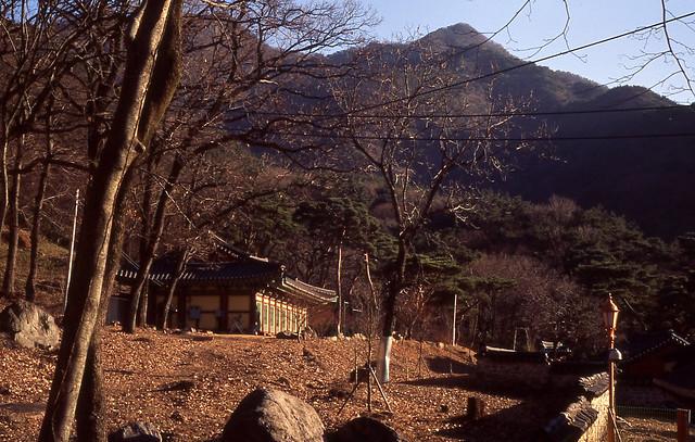 View of Munsusa Temple, Korea