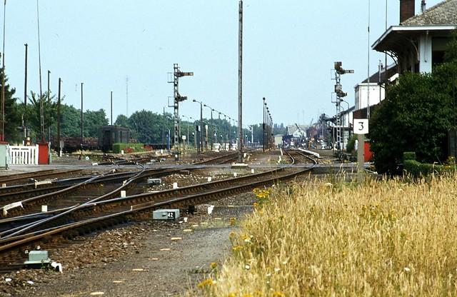 Stationszicht van Leopoldsburg Anno 1983!