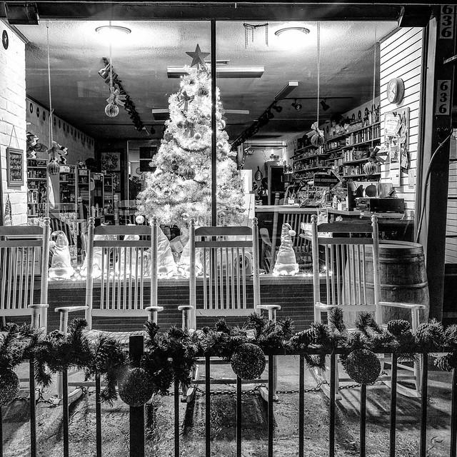 My Hometown-Holiday Display