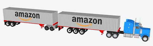 40 foot container Amazon trailer | by Kcida10