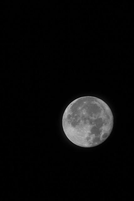 super moon over Toronto