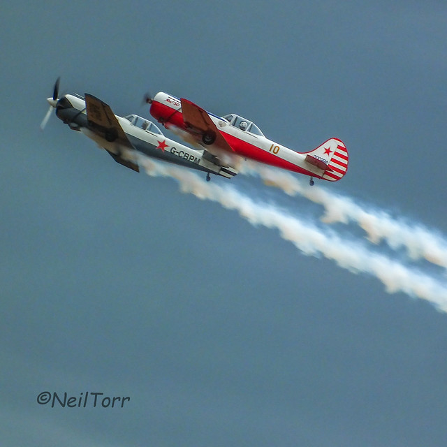Yak 50 display team