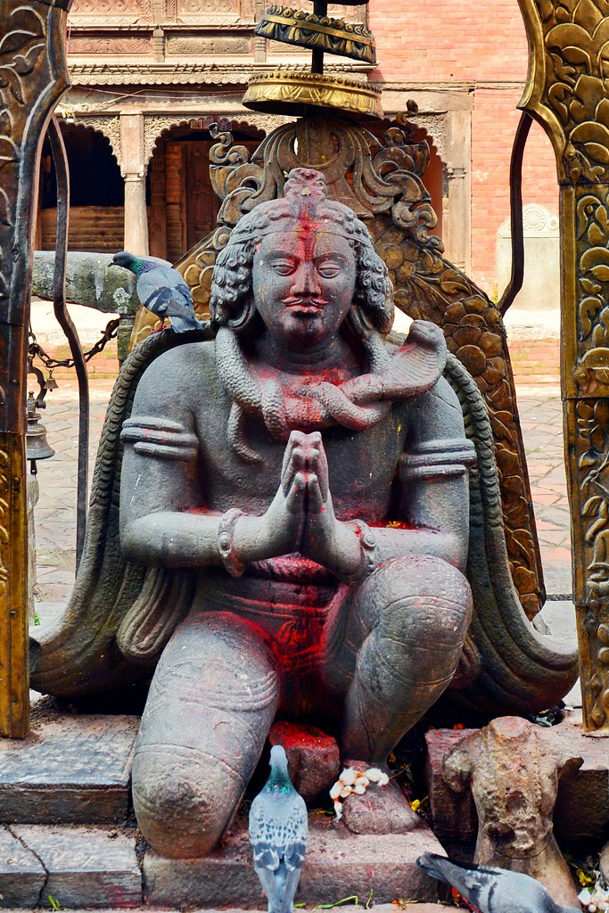Gaurda in Changu Narayan Temple