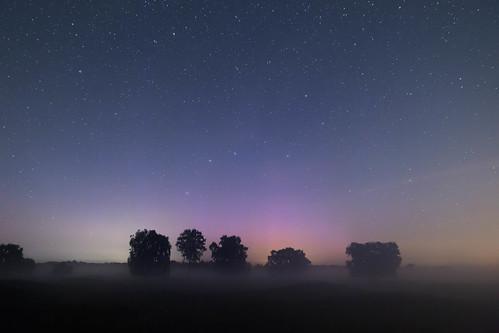 Polarlicht über Hügelgräber | by Äbbel