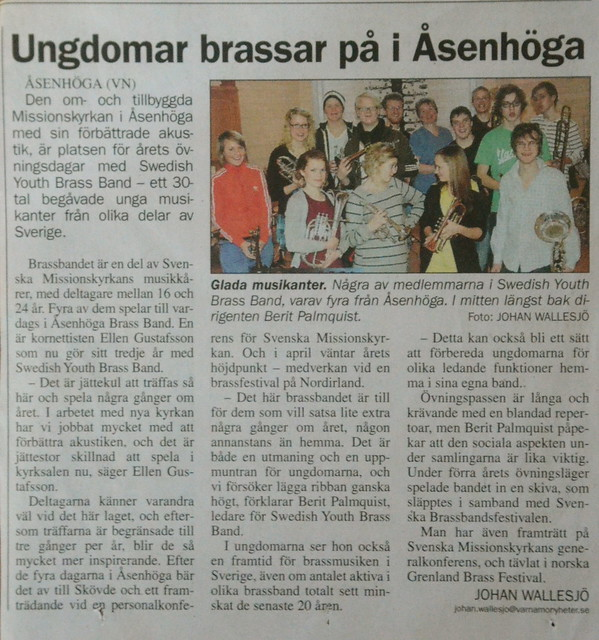 2010 - VN - SYBB i Åsenhöga