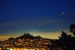 Eclipse of the Blood Moon from Billy Goat Hill | by charlesjameshunter
