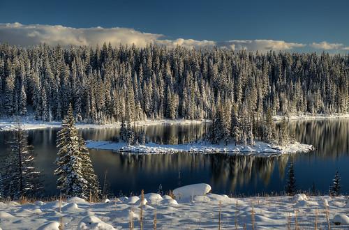 lake snow colorado grandmesa