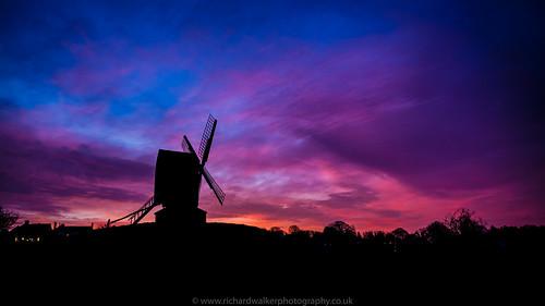 sky windmill silhouette clouds sunrise landscape landscapephotography