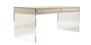 Lucite and Kirei desk | by urbanwoods123