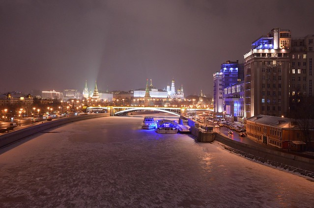 Happy New Year, Moscow!