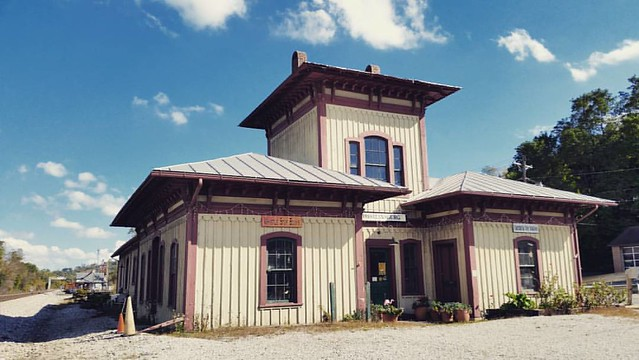 Christiansburg Cambria Depot