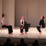 Jodi Melnick with Sara Mearns, Jared Angle, and Gretchen Smith