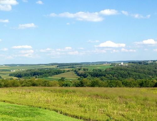 sky clouds forest hills fields farms susquehannavalley ruralcentralpennsylvania