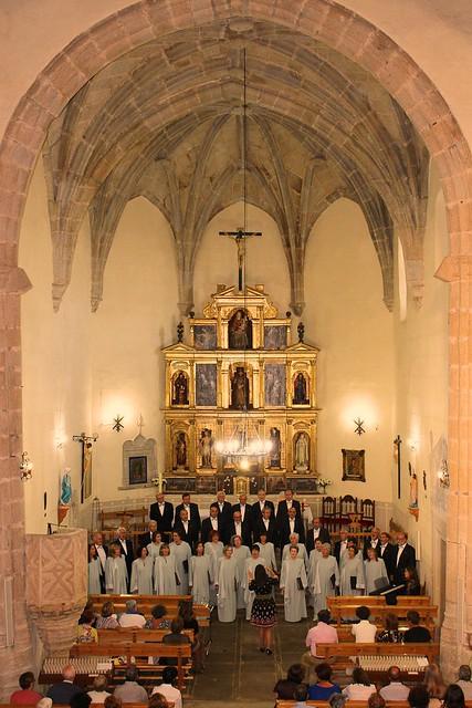 Coro Francisco Salinas de Salamanca.