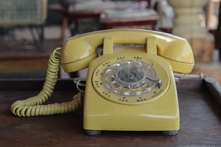 Yellow Telephone | by lensletter