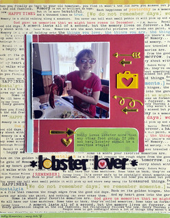 lobster lover   by Sarathings