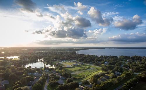 sunset florida aerialviews aerial clermont centralflorida dji lakeminnehaha clermontflorida quadcopter djiinspire