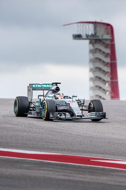 Lewis Hamilton at CoTA