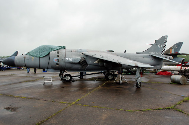 ZD610 BAe Systems Sea Harrier FA2
