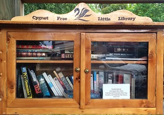 Cygnet Free Little Library | by miaow