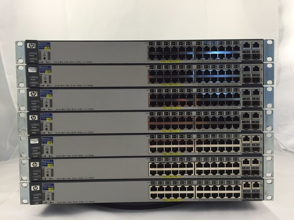 TESTED WORKING HP Procurve Switch 2626