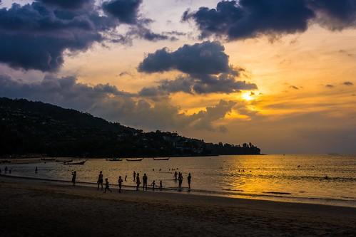 autumn sunset sea sun beach water clouds reflections thailand golden boat nikon paradise phuket siam longtailboat kamala lr6 d7100 sigma1750f28exdcoshsm