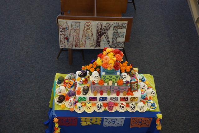 Dia de los Muertos at College of San Mateo Library