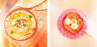 houmous-pancakes - 4 petites recettes au blender | by Camille R.