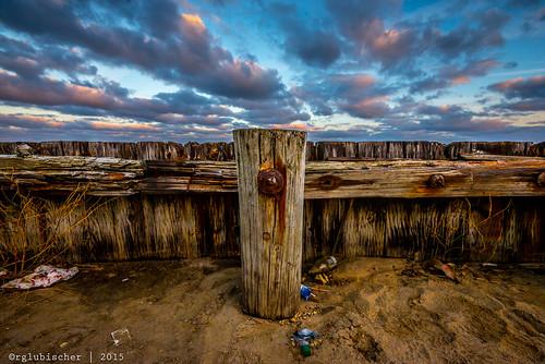 autumn sunset beach clouds us newjersey unitedstates monmouthcounty jerseyshore longbranch nikkor1635mm14gedvr nikond610 landscapephotopraphy plazactbeach