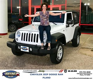 Huffines Dodge Plano >> Congratulations Kimberly on your #Jeep #Wrangler from Davi… | Flickr