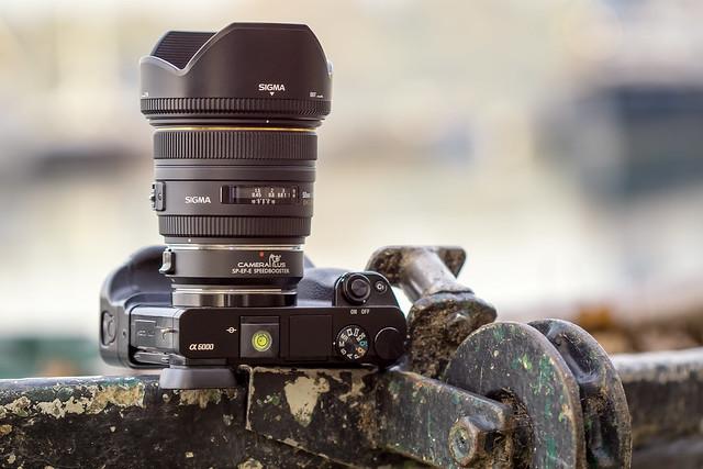 SONY ⍺6000 & Sigma EX 50mm ƒ/1.4 DG HSM on VILTROX Speed Booster EF-E AF