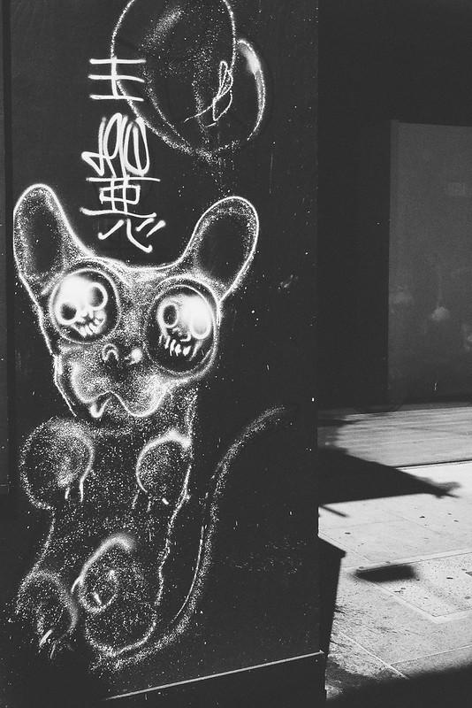 Nguyen, Dana; London, England - A Trip Down Brick Lane, Grafitti in Shoreditch