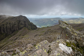 Broad Stand from the South Top of Scafell Pike | by johnkaysleftleg