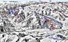 Mapa Kitzbühel