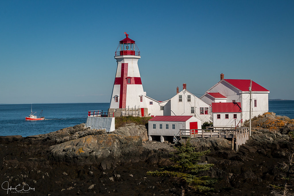 Known places: East Quoddy Head Lighthouse Campobello