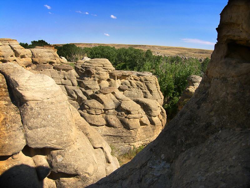 Writing on Stone Provincial Park, Alberta