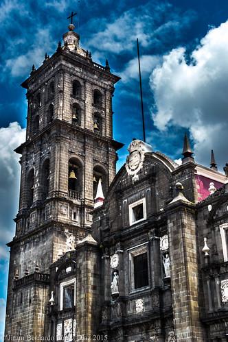 Catedral de la ciudad de Puebla.
