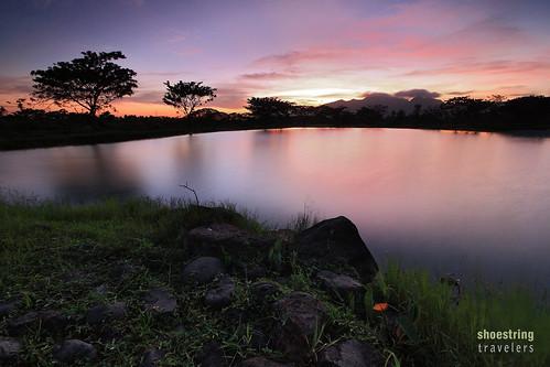 longexposure sunset sky cloud sun lake water landscape outdoor serene quezon waterscape ndfilter tiaong